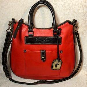 Dooney & Bourke Dillen Teardrop Leather Hobo Bag